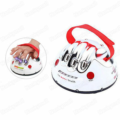 Polygraph Shocking Liar Micro Electric Shock Lie Detector Truth Dare Game Toy