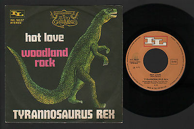 "7"" Tyrannosaurus Rex Hot Love / Woodland Rock Italy 1971 Hard Glam Marc Bolan"
