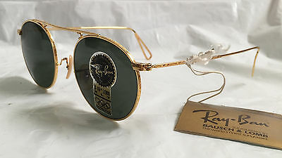 New Vintage B&L Ray Ban Arista Collection W1697 Sunglasses G-15 XLT USA