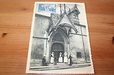CM Carte maximum 5ème Centenaire de l'HOSTEL-DIEU Beaune 1945 Cote MF 27.00€ TTB