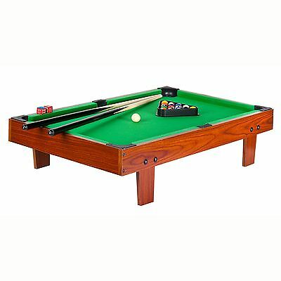 Portable Pool / Snooker Table New Fun Games Sport