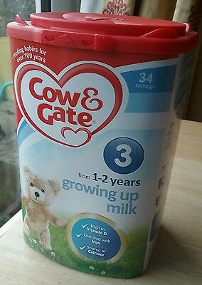 Cow and Gate 900g 1 to 2 Years Growing Up Milk Powder - stage 3 Formula