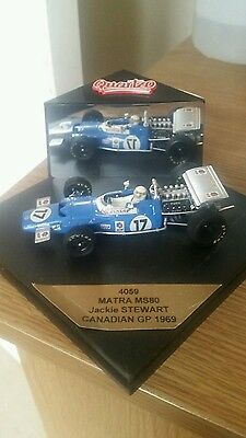 Jackie Stewart 1969 Matra MS80 Quartzo 1/43 Model
