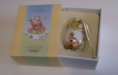villeroy and boch annual easter edition 2014 egg porcelain