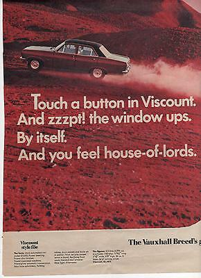 Vauxhall Viscount - Advertisement Page - Look !!