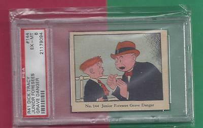 1930's R41 DICK TRACY Junior Foresees Grave Danger #144  PSA  EX-MT 6