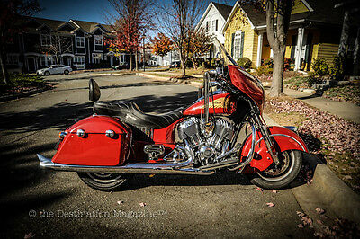 2014 Indian Chieftain  One Owner, Chieftain Red, Corbin, K&N, Stage 1, New Tires, Factory Warranty 2019