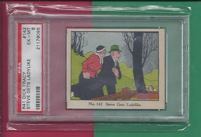 1930's R41 DICK TRACY Steve Gets Ladylike  #142  PSA  EX-MT 8