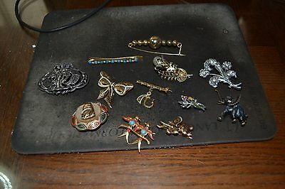 lot de broche vintage neuf de stock