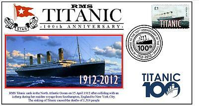 RMS TITANIC 100th ANNIVERSARY OF SINKING SOUV COVER 6