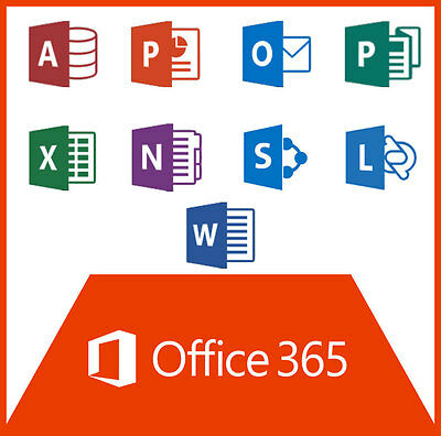 Microsoft Office 365 Home & Student - 5 Devices - PC/MAC Office 2016 - permanent