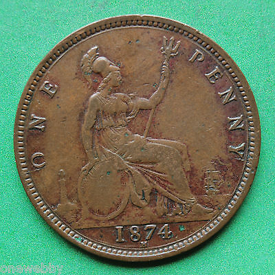 1874H - Victoria - Penny - Unlisted variety - SNo13854