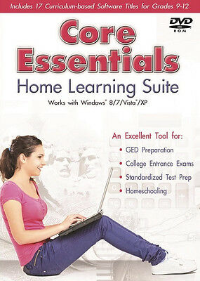 17-Subjects Curriculum Based Educational Software Homeschool Grade 9 10 11 12