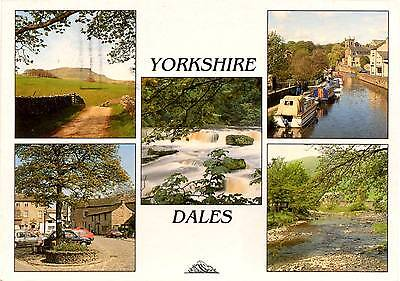 Yorkshire Dales - Multiview - Postcard 1998