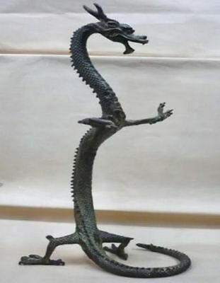 exquisite bronze Chinese dragon statue Figures