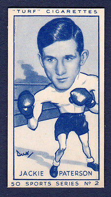 """Carreras """"Turf"""" JACKIE PATERSON (Boxer) - No.2 from Sports Series"""