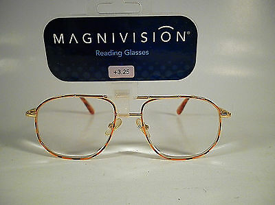Reading Glasses Magnivision Spring Hinge -  Aero - Marble/gold