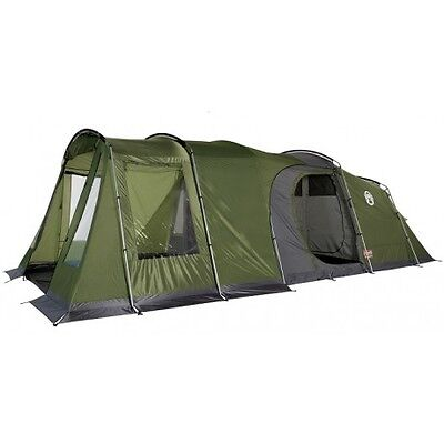 Coleman Da Gama 4 Tent With Brand New Extension