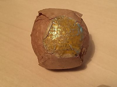 Unidentified Vintage (1930s?) Blue Spot Wrapped Golf Ball