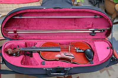 Lowendall Full Size Violin 1889 With Bow And Case