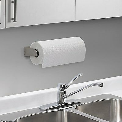 Umbra Mountie Cabinet Mounted Paper Towel Holder Nickel RRP £20 SALE SALE