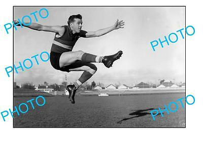 Footscray Fc Legend Ted Whitten Large A3 Photo 2