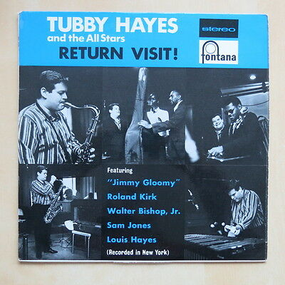 TUBBY HAYES AND THE ALL STARS Return Visit! UK stereo vinyl LP Fontana STL 5195