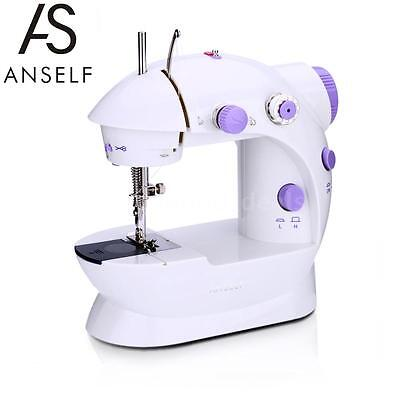 Mini Household Electric Sewing Machine 2 Speed Adjustable+Light Foot Pedal C1X2