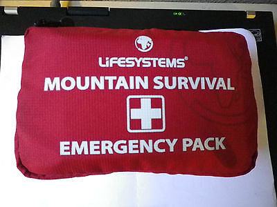 Lifesystems Mountain Survival Pack / First Aid Kit