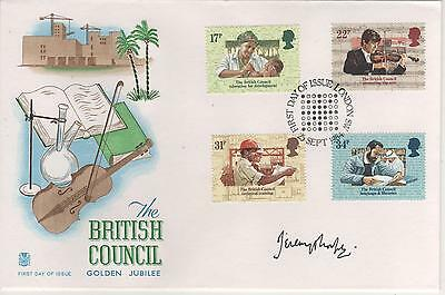 Jeremy Thorpe - Signed - First Day Envelope