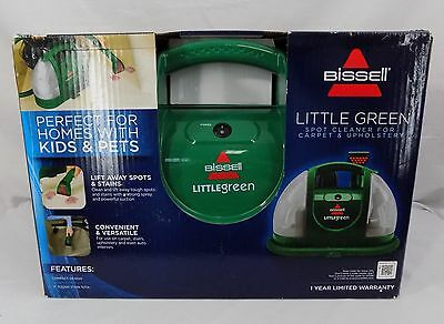 Bissell Carpet Cleaner Little Green Vacuum Spot Stain Cleaning Machine 1400M