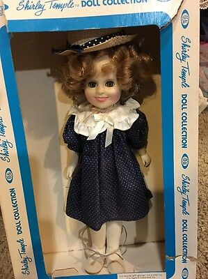 Vintage Shirley Temple Doll by Ideal 1982 with Original Box Rare Outfit