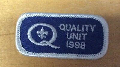 Boy Scout Quality Unit 1998 Never Been Used