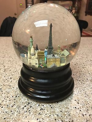 Saks Fifth Avenue Snow Globe - PARIS, FRANCE (RETIRED)