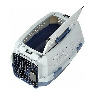 19-Inch Pet Carrier Two Door Top Load Pet Kennel Travel Crate Dog Cat Puppy Cage