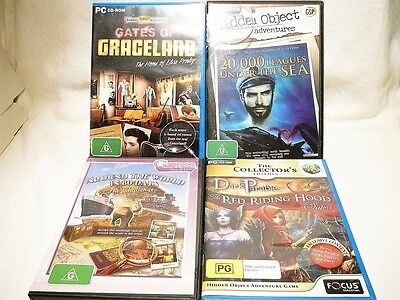 """Mystery Puzzle Bulk Pack, 4 X Pc Games """"preowned"""" Auz Seller Gp02"""
