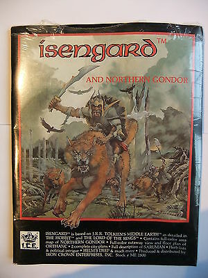 Isengard And Northern Gondor, Merp, Rolemaster,middle Earth,#2800, Shrinkwrapped