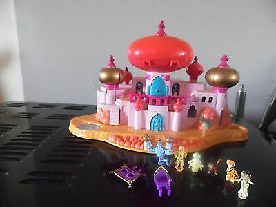 polly pocket disney aladdin avec personnages