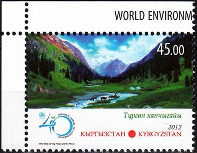 Environment Day. UNO. Painting. KYRGYZSTAN 2012 (**)