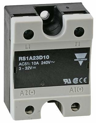SSR: 240VAC/10A - DC INPUT Solid State Relays Panel Mount - MC88766