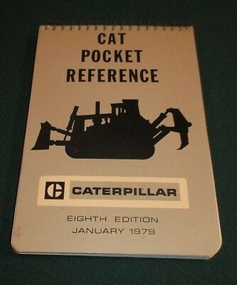 1972 Caterpillar Tractor Cat Pocket Reference Guide 6th Edition