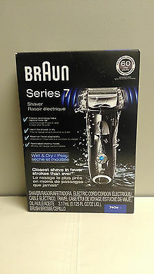 NEW Braun Series 7 740s-6 Wet/Dry Shaver FREE SHIPPING