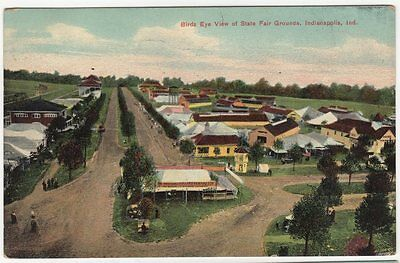 State Fair Grounds BEV 1908 Indianapolis Indiana fairgrounds