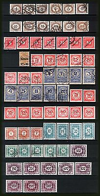 AUSTRIA 1900-24 : Postage Dues collection - mint & used.