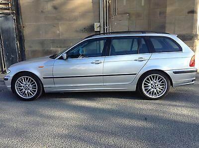 Left hand drive car , BMW 325i Touring,  2002 Facelift