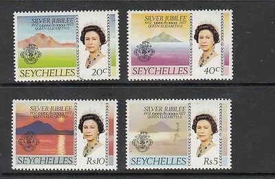 SEYCHELLES STAMPS UNUSED VALUES TO Rs 10 .Rfno.142.