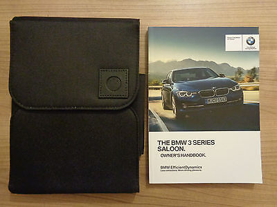 BMW 3 Series Owners Handbook/Manual and Wallet 15-17
