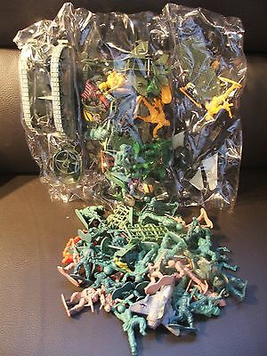 Large Lot Of Mixed Toy Soldiers
