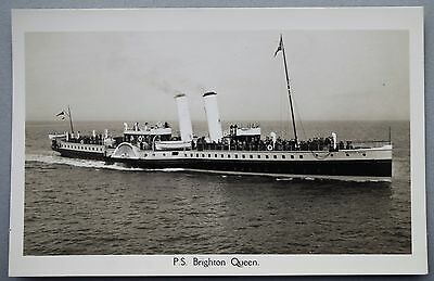 P & A Campbell Paddle Steamer 'Brighton Queen'