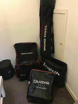 Course Match Tackle Seat Box Accessories Luggage L@@k